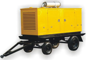 LANDTOP Cummins Engine Diesel Generator Trailer set